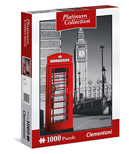 Clementoni- London Puzzle Platinum Collection, 1000 Pezzi, 39397