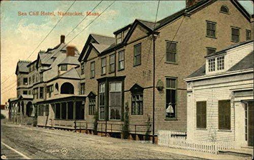 Sea Cliff Hotel Nantucket, Massachusetts MA Original Vintage Postcard 1910