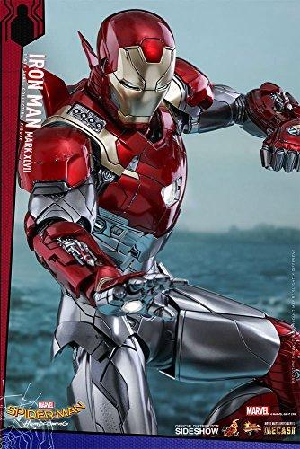 Hot Toys–Spiderman Homecoming Iron Man Mark XLVII Figura, 4897011183763, 32cm