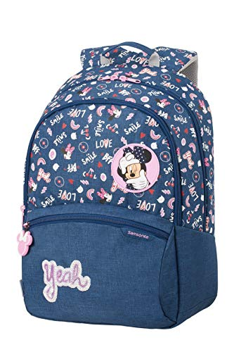 Samsonite Color Funtime Disney Zaino L, 42 cm, 24 L, Multicolore (Minnie Doodles)