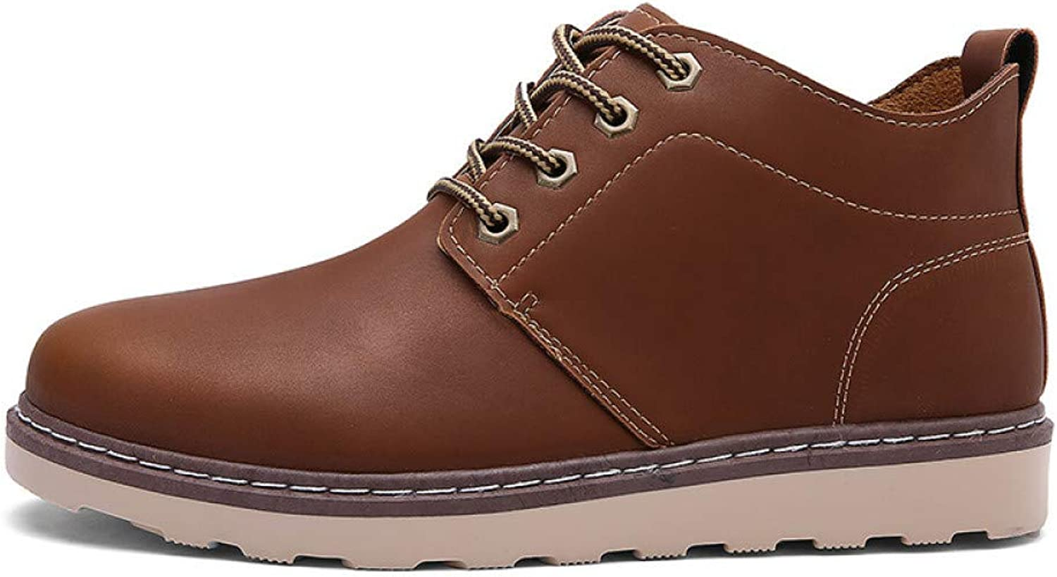 FHCGMX Male Boots For Men shoes Adult Autumn Comfortable Fashion Casual Walking Ankle Work Boots Designer
