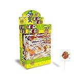 CASA DEL DOLCE Magic Lollies Piatto, Lecca Lecca al Gusto Frutta, Box da 200 Pezzi, Incart...