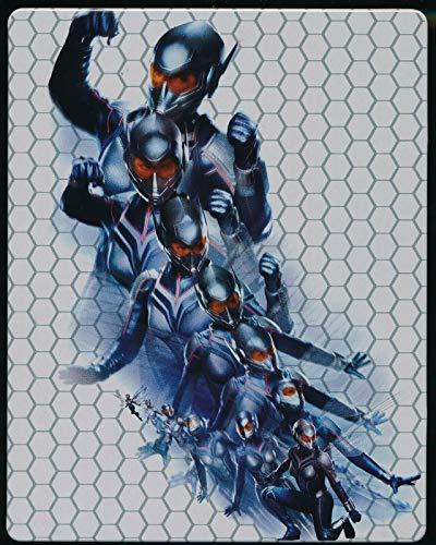 EBOND Ant-man And The Wasp 4k Ultra Hd + Blu-ray Steelbook - BluRay