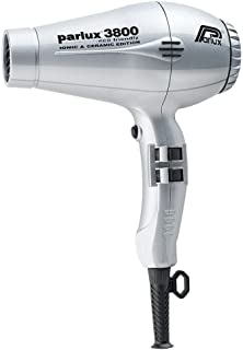 Parlux 3800 Ceramic & Ionic 2100W Hair Dryer, Silver