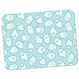 Extra Thick Rubber Mouse Pad/Mat - 9.6 x 7.5 x 0.2 inches - Kawaii Cute Cheeky Ghosts