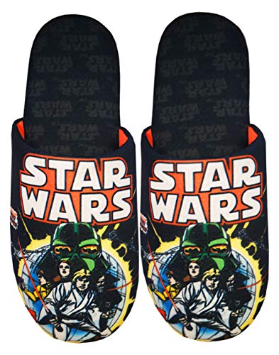 Star Wars Comic Poster and Logo Men's Slippers