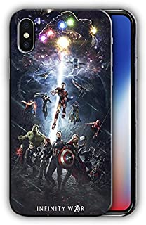 Hard Case Cover with Сomics design for Iphone X 5.8in (iwar3)