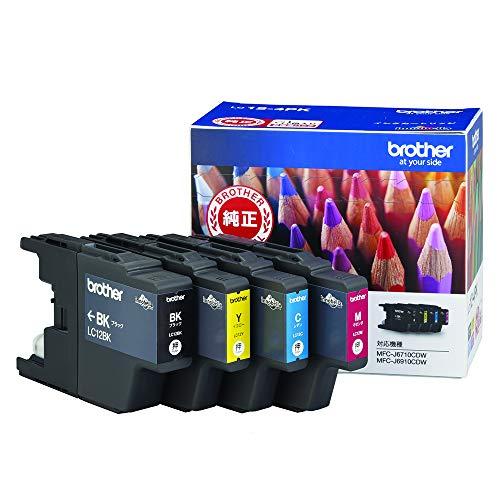 ブラザー工業 【brother純正】インクカートリッジ4色パック LC12-4PK 対応型番:MFC-J6710CDW、MFC-J710D、DCP-J940N、DCP-J540N 他