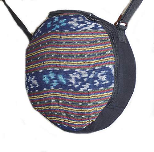 Hejoka-Shop UNIKAT Schamanentrommel Tasche für Trommel 30 cm. Ritual Indian Drum Umhängetasche