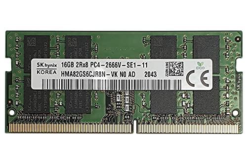 Hynix 16GB (1x16GB) DDR4 Sodimm 2666MHz 260 Pin PC4-21300 hma82gs6cjr8n-vk