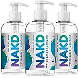 NAKD Lubricante Original de base Acuosa Sensación íntimo Natural de Larga duración con Aloe Vera