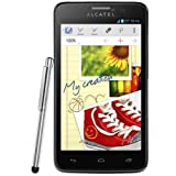 Alcatel One Touch Scribe Easy 8000 Smartphone entsperrt Android 4.1 Jelly Bean Bluetooth WiFi