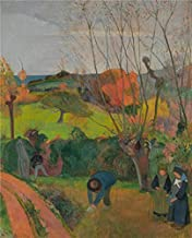 Oil Painting 'Paul Gauguin-The Willow Tree,1889' Printing On High Quality Polyster Canvas , 18x22 Inch / 46x57 Cm ,the Best Laundry Room Artwork And Home Artwork And Gifts Is This High Resolution Art Decorative Canvas Prints