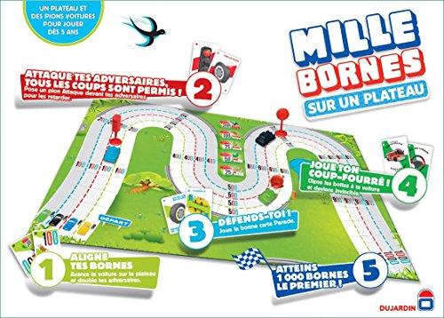 Dujardin 3262190590199 Niños Juego de Mesa de Carreras - Juego de ...