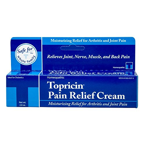 Topricin Pain Relief Therapy Cream (2 oz) Fast Acting Pain Relieving Rub