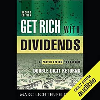 Get Rich with Dividends audiobook cover art