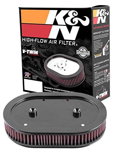HD-0900 K&N Ersatz-Luftfilter kompatibel mit H/D Sportster Screamin' Eagle Element 88-12 (Powersports Luftfilter)
