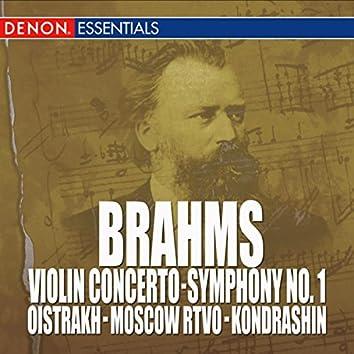 Brahms: Violin Concerto, Op. 77 - Symphony No. 1