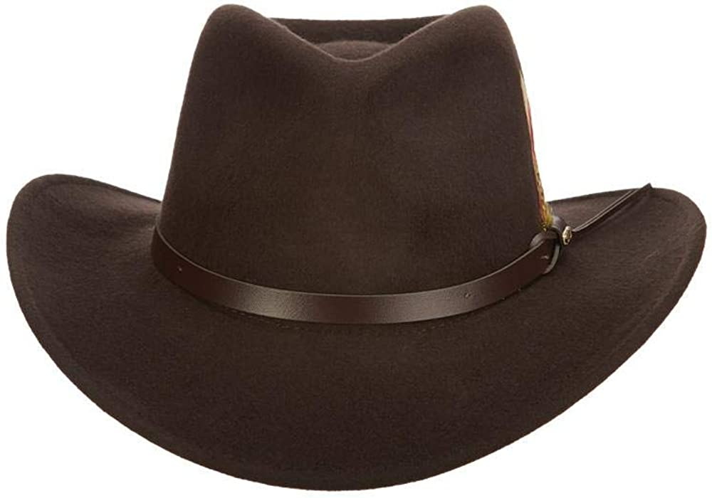 Scala Classico Men's Manufacturer direct delivery Recommendation Crushable Hat Outback Felt
