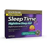 GoodSense Sleeptime Nighttime Sleep-Aid Softgels, Diphenhydramine HCl 25 mg, Relieves Occasional Sleeplessness