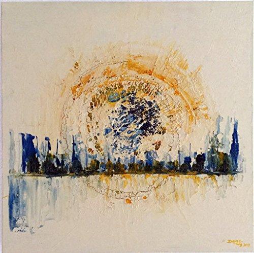 Skyline - Acrylbild 50x50cm signiert
