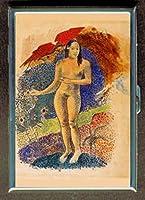ポール・ゴーギャンタヒチNude GirlステンレススチールIDまたはCigarettesケース( Kingサイズまたは100mm )