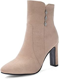 BalaMasa Womens ABS14146 Pu Boots