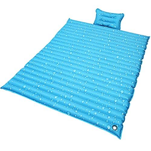 Colchón de Agua de Verano, colchón de Doble Agua, artefacto de refrigeración, colchón Lleno de Agua (Color : A, Size : 220 * 180cm)
