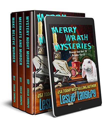Merry Wrath Mysteries Boxed Set Vol. IV (Books 10-12) by [Leslie  Langtry]