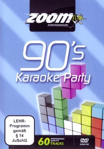 Zoom Karaoke DVD - Nineties Karaoke Party (90\'s) - 60 Songs