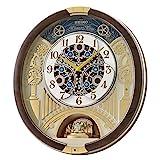 SEIKO Melodies in Motion QXM386BRHZ Clock, 17 1/2 x 16 x 3 3/4, Multi