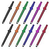 SITAKE Lapiz tactil, 12 Pcs Soporte para teléfono 3 en 1 + Lapiz Capacitivo para Tablet + bolígrafos, Soporte para teléfono móvil Stylus Pens para Todos los Dispositivos de Pantalla táctil (Stile 1)