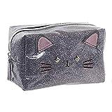 Hogar y Mas Neceser de Viaje para Mujer con Forma de Gatos, Diseño Kawaii, Estilo Original/Moderno...