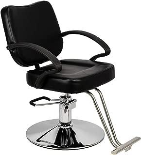 Mefeir Hydraulic Styling Chair Heavy Duty for Hair Salon, Hairdressing Chair Barber Shop Beauty Tattoo Equipment