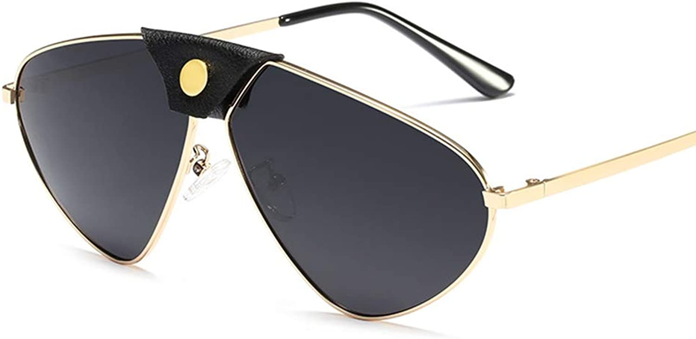 Polarized Sunglasses UV Predection Ultra Lightweight Sports Sunglasses, Metal Frame TAC Lens, Suitable for Men Women