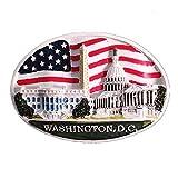 The White House Washington D.C.USA - Calamita da frigorifero da viaggio, collezione regalo per casa e cucina, decorazione per frigorifero America