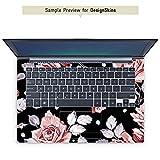 mySN XMG P722 Pro Aufkleber Schutz Folie Design Sticker Skin Rosen Blumen Muster