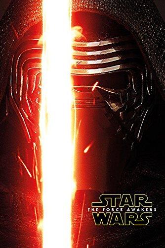 Star Wars EP7 Kylo Ren Episode 7 Poster Plakat Größe 61x91,5cm + 1 Ü-Poster der Grösse 61x91,5cm