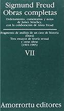 Obras Completas - Tomo VII Fragmentos de Analisis de Un Caso de Histeria (Spanish Edition) by Sigmund Freud(2000-08)