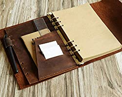 Leather A5 Planner