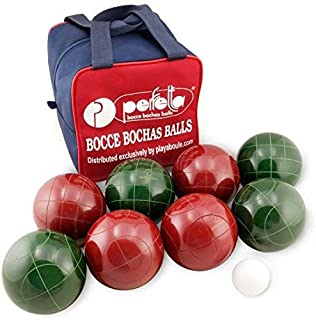 Perfetta Club Pro Bocce Ball Set 107mm Made in Italy