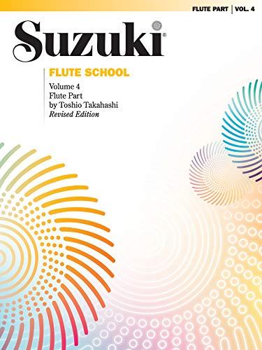 Suzuki Flute School Flute Part, Volume 4 (Revised) (The Suzuki Method Core Materials)