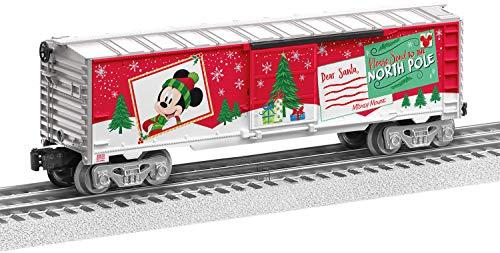 Lionel Disney, Electric O Gauge Model Train Cars, Mickey's Wish List Boxcar