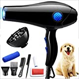 WQRA Pet Dryer Dog Cat Hair Blower, Grooming Professional 4HP Forced Air Dryer