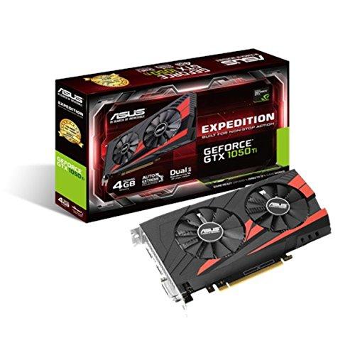 90YV0A54-M0NA00 - GF EX-GTX1050TI-O4G PCI-E3.0 NVIDIA GeForce GTX 1050 TI, 4GB, GDDR5, PCI Express 3.0, 128-bit, 1 x DVI-D, 1 x HDMI, 1 x DisplayPort