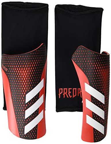 adidas Predator 20 League Shin Guards Gaiters (unisex-adult) Black/Active Red Large