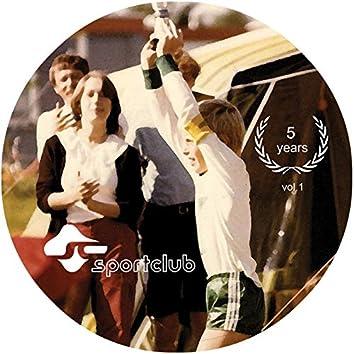 5 Years of Sportclub, Vol. 1