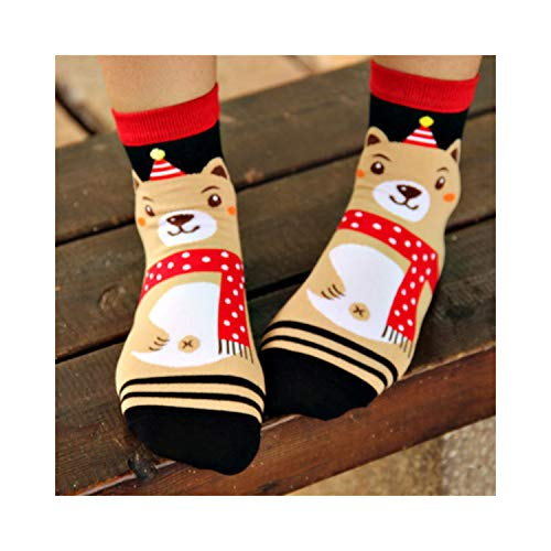 Kagoroo Calcetines divertidos Casual Kora Style Women Socks