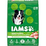 IAMS Adult Minichunks Small Kibble High Protein Dry Dog Food with Real...