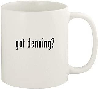 got denning? - 11oz Ceramic White Coffee Mug Cup, White